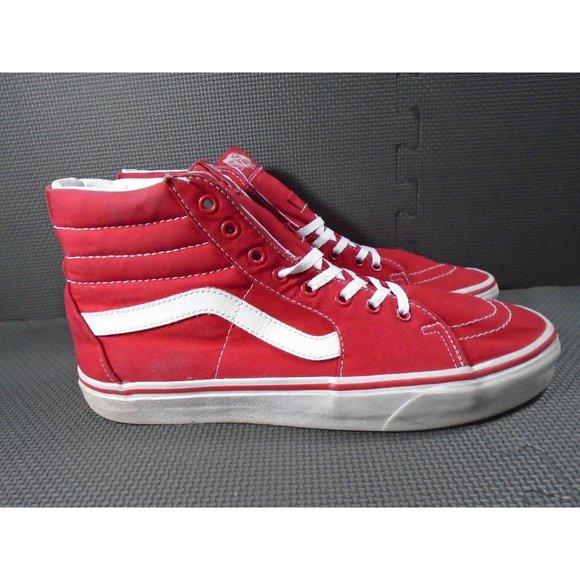 Vans Shoes   Mens Sz 1 Vans Red High